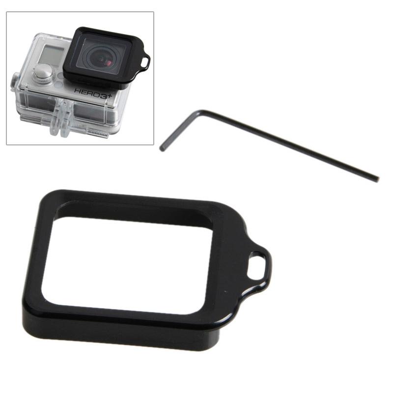 Lens vervanging Kit (aluminium Lanyard Ring Mount & schroevendraaier) voor GoPro HERO 4 / 3+(Black)