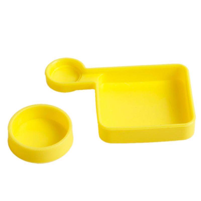 TMC siliconen Cover Set voor GoPro HD Hero 4 / 3+(Yellow)