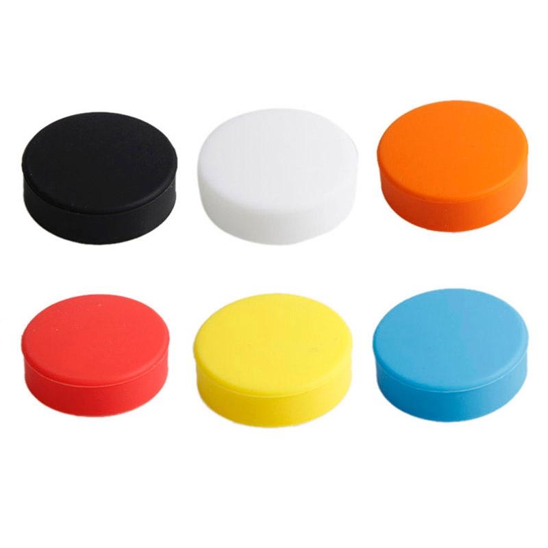TMC ronde vorm Silicone Cap voor GoPro Hero 4 / 3+(Yellow)