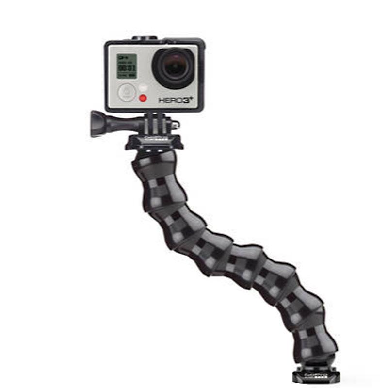 TMC 7 gezamenlijke 360 graden draaibaar verstelbare nek voor GoPro HERO4 / 3 + / 3 / 2 / 1 Flex Clamp Mount V2