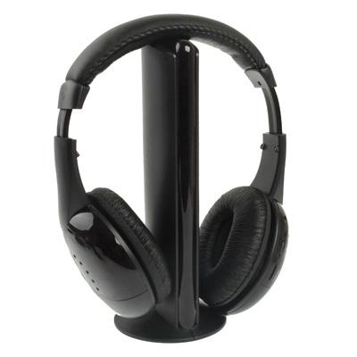 Hi-Fi 5-in-1 draadloze Headphone(Black)