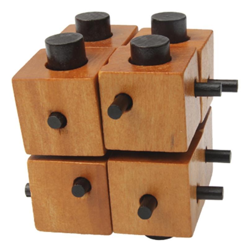 Afbeelding van houten volwassen educatieve speelgoed recreatieve speelgoed Kongming Lock