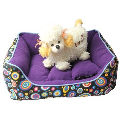 Afbeelding van Kunt afwasbaar Fantasy rechthoekige Nest / huisdier Kennel / Dog Bed / huisdier Nest / hond Sofa willekeurige kleur levering