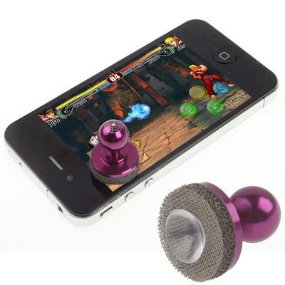 Afbeelding van Joystick-It Arcade spel Stick voor iPhone 6 / 6 Plus 5 & 5S & 5C 4 / 4S iPad mini 1 / 2 / 3 Galaxy telefoon alle Capacitieve Screen(Purple)