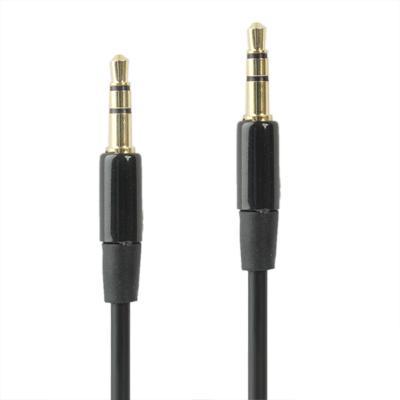 Aux 3.5mm Audio Kabel 1.2 Meter Telefoon/ipod/ipad/mp3 Zwart