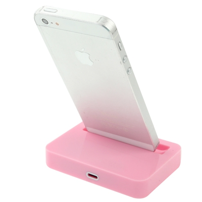 8 Pin laad Dock voor iPhone 5 / iPod touch 5 (roze)