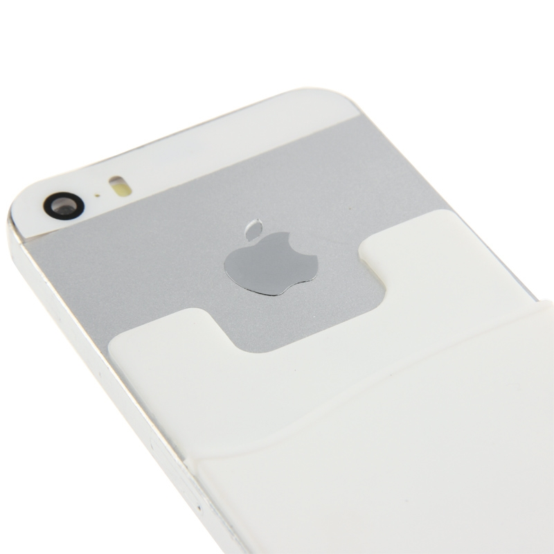 Smart portemonnee siliconen Card Pocket voor iPhone 6 & iPhone 6S / iPhone 5 & 5C & 5S / iPhone 4 & 4S, en voor All the mobiele telefoonswit