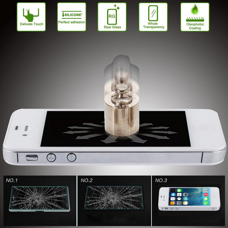 Afbeelding van 0.15mm Ultra-thin Explosion-proof Tempered Glass Screen Guard for iPhone 5 / 5S / 5C