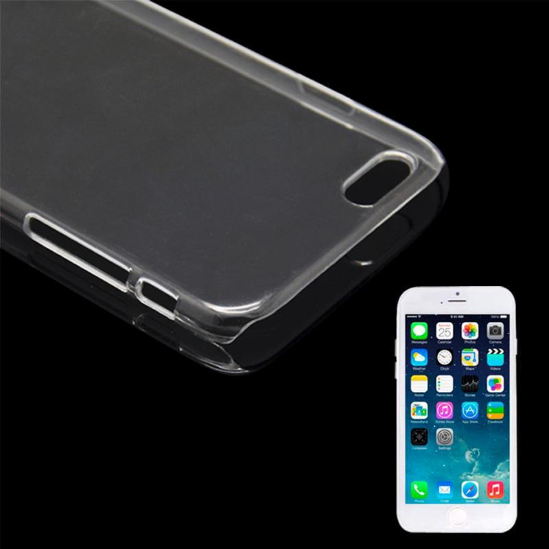 iPhone 6 & 6S Kristal structuur Kunststof back cover Hoesje (transparant)