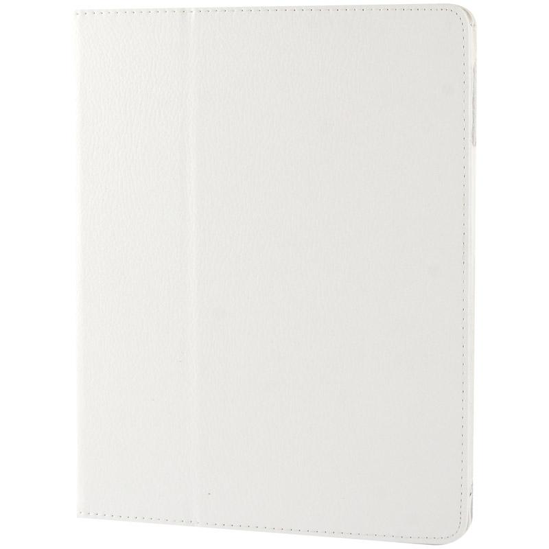 Hoge kwaliteit Litchi structuur PU leren flip hoesje met slaap / ontwaak functie voor iPad 2 / iPad 3 / iPad 4 Wit