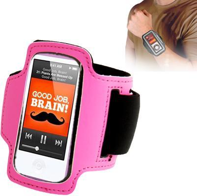 Sports Armband Case for iPod nano 7 (Magenta)