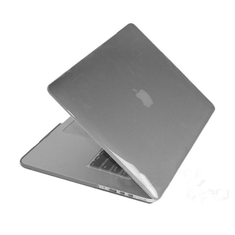 MacBook Pro Retina 13.3 inch Kristal structuur hard Kunststof Hoesje / Case (grijs)