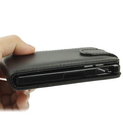 Vertical Flip Hoesje voor Sony Xperia Go / ST27i