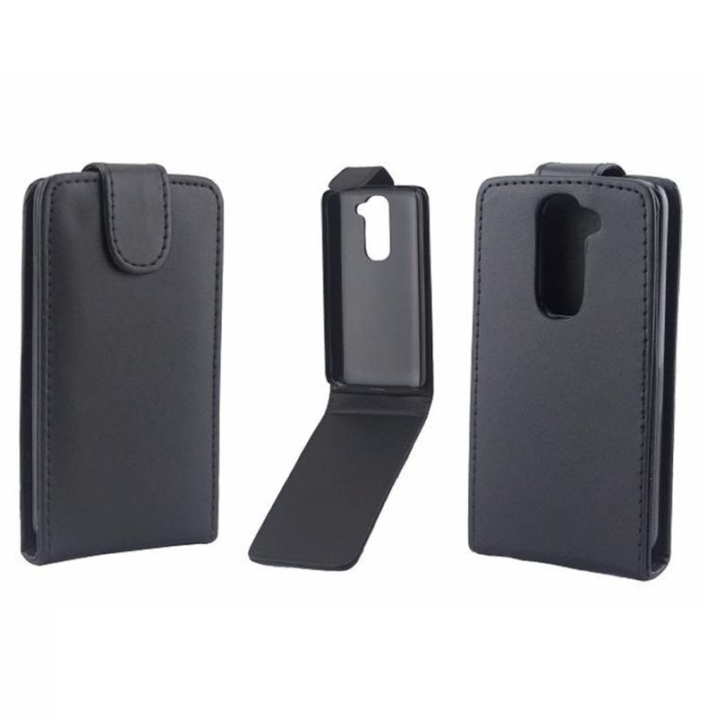 Verticale Flip lederen hoesje voor LG G2 mini / D620