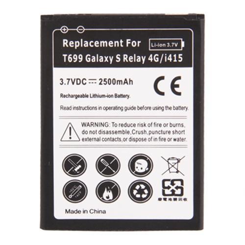Samsung T699 / Galaxy S Relay 4G / i415 2500mAh vervangende batterij / Accu