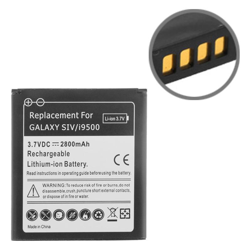 Samsung Galaxy S IV / i9500 2800mAh vervangende Batterij (zwart)