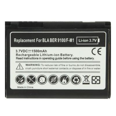 Afbeelding van 1500mAh F-M1 vervangende batterij voor BlackBerry 9100/Pearl 3G