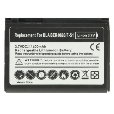 Afbeelding van 1200mAh F-S1 Replacement Battery for Blackberry Torch 9800