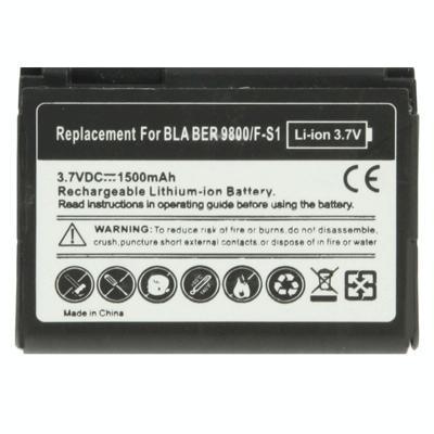 Afbeelding van 1500mAh de batterij van de vervanging van de F-S1 voor Blackberry Torch 9800