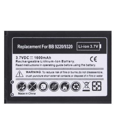 Afbeelding van 1600 mAh Replacement Battery for Blackberry Curve 9220 / 9320