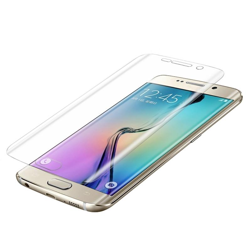 Afbeelding van 0.1mm explosieveilige zachte TPU Full Screen Protector voor Galaxy S6 Edge