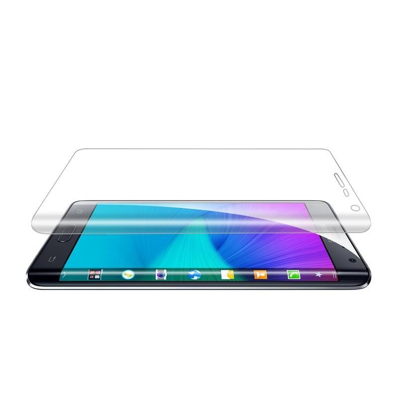Afbeelding van 0.1mm explosieveilige zachte Full Screen Protector voor Galaxy Note Edge / N9150