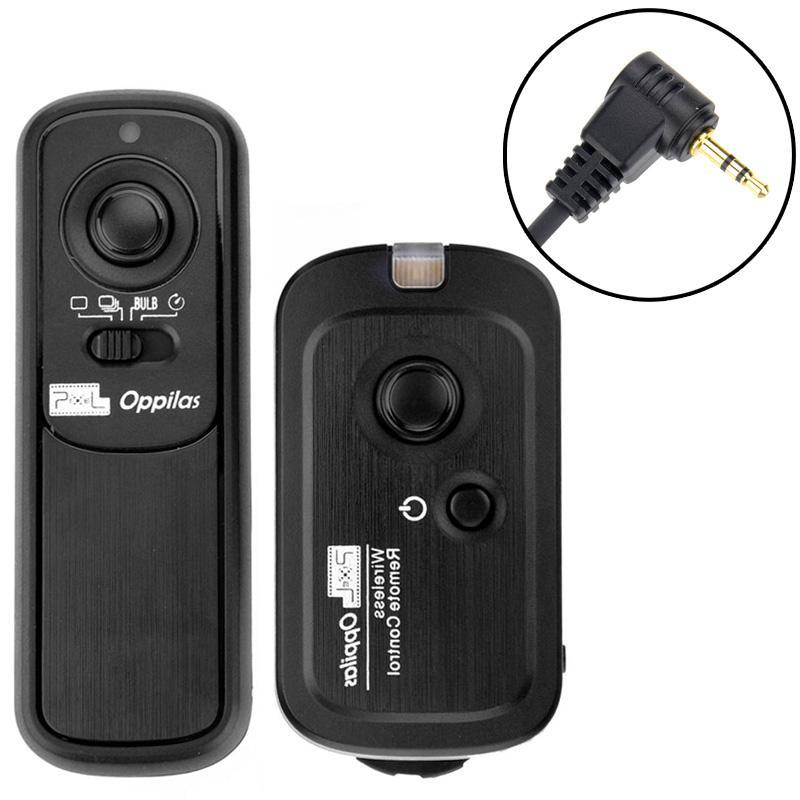 pixel oppilas 2.4ghz draadloos sluitertijd afstandbediening voor canon power shot g10 / g11, eos 1100d / 1000d / 600d / 550d/500 d 400 d/350 d, eos 30 / 33 / 50 (rw-221 / e3)