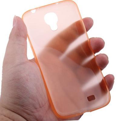 Samsung Galaxy S IV / i9500 0.3mm ultra dun Polycarbonate materiaal beschermende Shell Cover (Oranje)