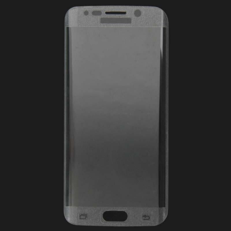 Afbeelding van 0.3mm 9H oppervlakte hardheid 3D gebogen oppervlak Full Screen Cover explosieveilige getemperd glas Film voor Galaxy S6 edge(Transparent)