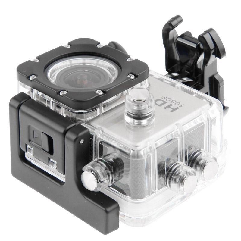 SJ4000 Full HD 1080P 1.5 inch LCD sport Camcorder met waterdichte geval 12.0 Mega CMOS Sensor 30m Waterproof(White)