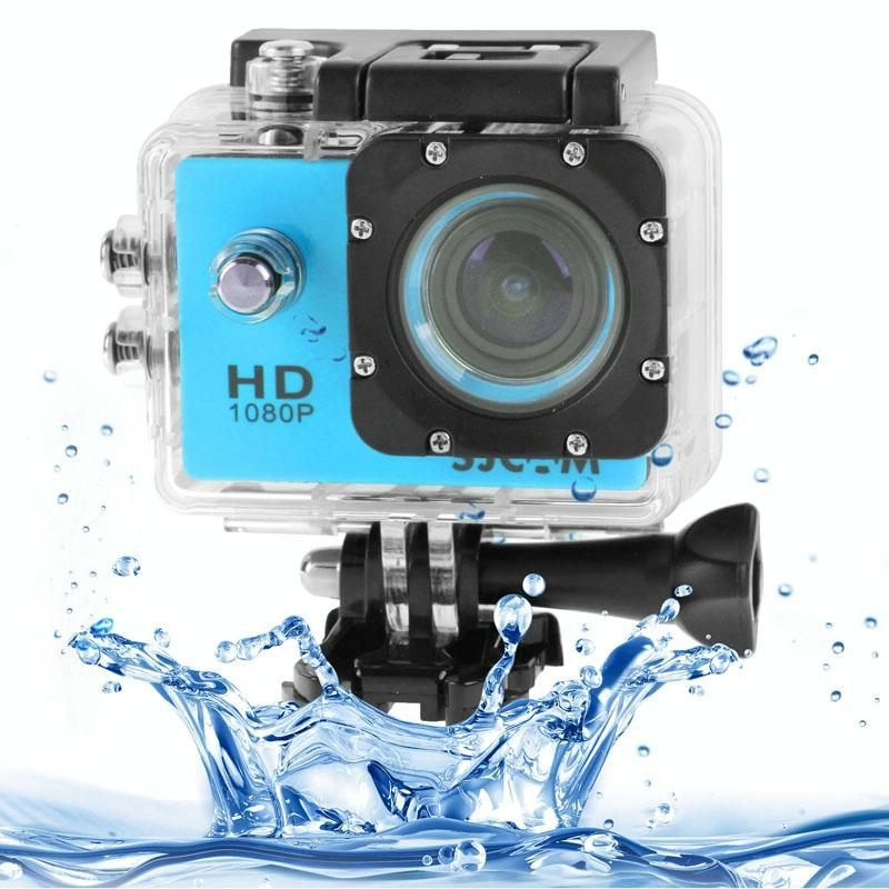 SJCAM SJ4000 Full HD 1080P 1.5 inch LCD sport Camcorder met waterdichte geval 12.0 Mega CMOS Sensor 30m Waterproof(Blue)