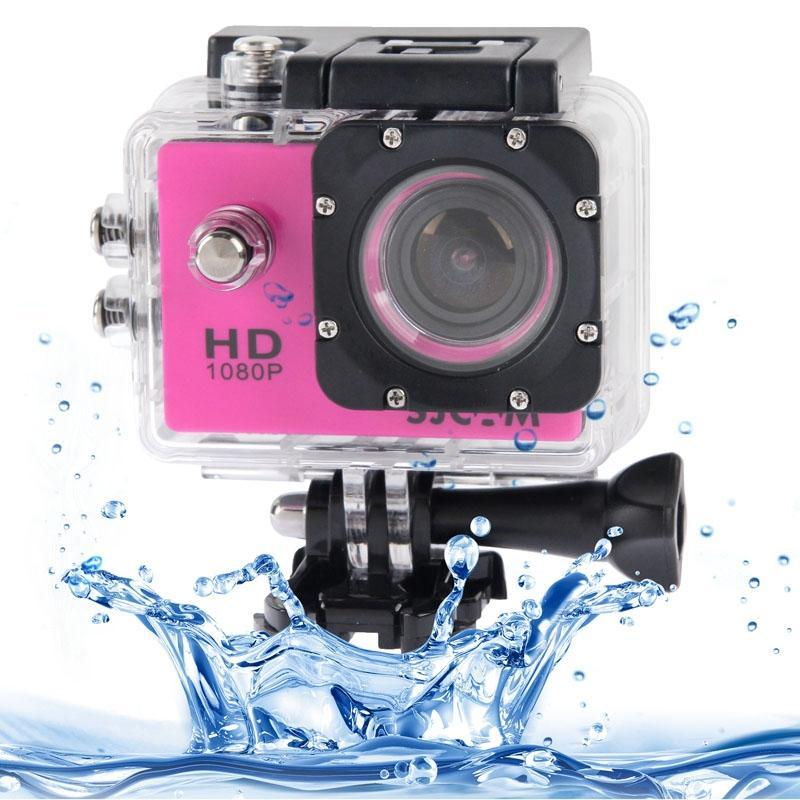 SJCAM SJ4000 Full HD 1080P 1.5 inch LCD sport Camcorder met waterdichte geval 12.0 Mega CMOS Sensor 30m Waterproof(Magenta)