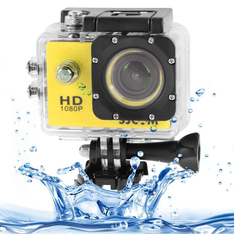 SJCAM SJ4000 Full HD 1080P 1.5 inch LCD sport Camcorder met waterdichte geval 12.0 Mega CMOS Sensor 30m Waterproof(Yellow)