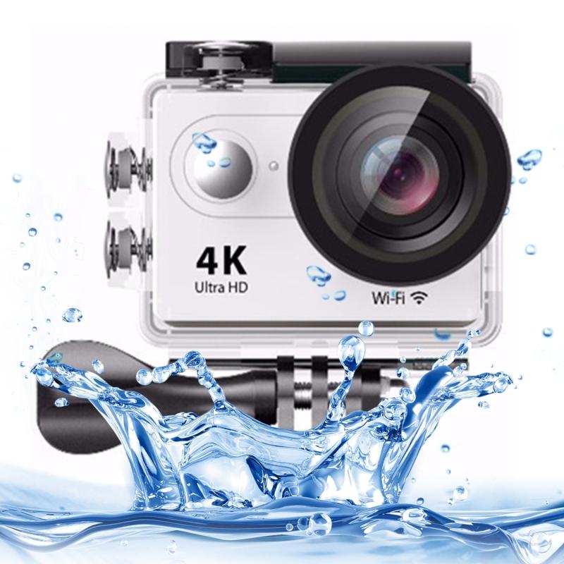 H9 4K Ultra HD1080P 12MP 2 inch LCD scherm WiFi Sport Camera  170 graden brede hoeklens  30m Waterdichtwit