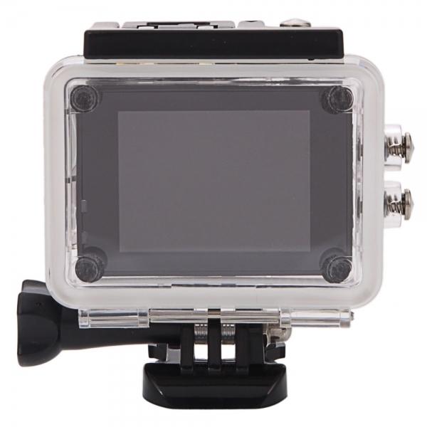 SJ7000 Full HD 1080P 2.0 inch LCD scherm Novatek 96655 WiFi sport Camcorder Camera met Waterdicht hoesje  170 graden HD groothoek Lens  30m Waterdicht(hard roze)