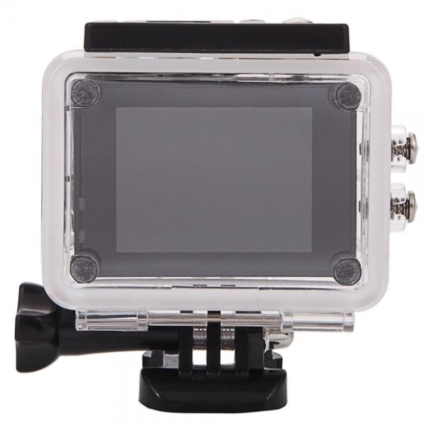 SJ7000 Full HD 1080P 2.0 inch LCD scherm Novatek 96655 WiFi sport Camcorder Camera met Waterdicht hoesje, 170 graden HD groothoek Lens, 30m Waterdicht(zilver)