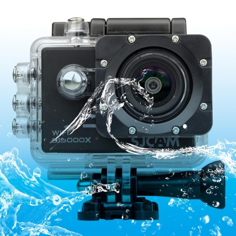 SJCAM SJ5000X WiFi Ultra HD 2K 2.0 inch LCD sport Camcorder met waterdichte geval 170 graden brede hoeklens 30m Waterproof(Black)