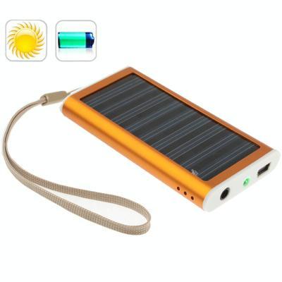 Afbeelding van 1350mAh Solar Charger voor mobiele telefoon digitale camera PDA MP3/MP4 speler (oranje)