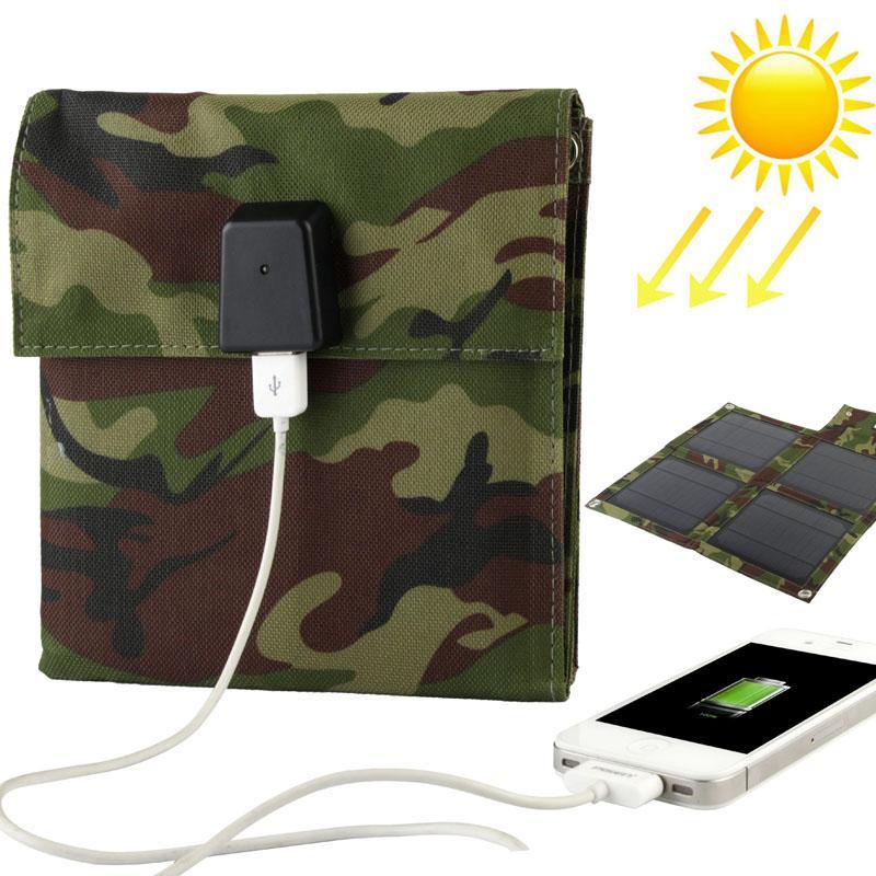 Afbeelding van 10W draagbare Folding zonnepaneel / Solar Lader Bag voor Laptops / mobiele telefoons