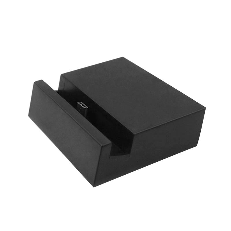 2 in 1 USB-C / Type-C 3.1 Sync Data / laad Dock lader / docking station  Voor Samsung Galaxy S8 & S8 PLUS / LG G6 / Huawei P10 & P10 Plus / Xiaomi Mi6 & Max 2 en other Smartphones (zwart)