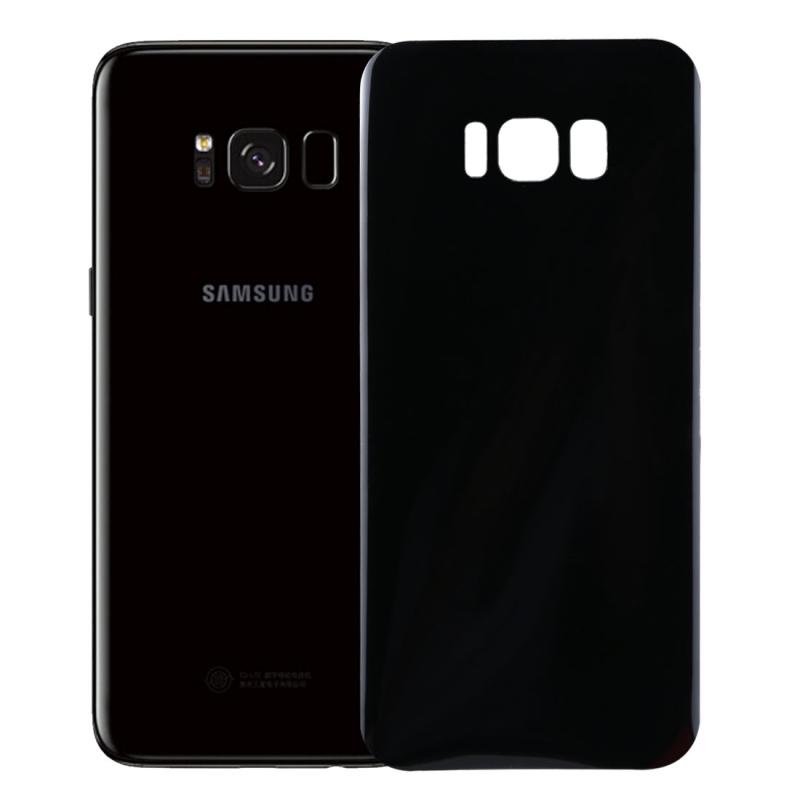 Afbeelding van 0.1mm HD 3D gebogen PET terug Full Screen Protector voor Galaxy S8(Black)