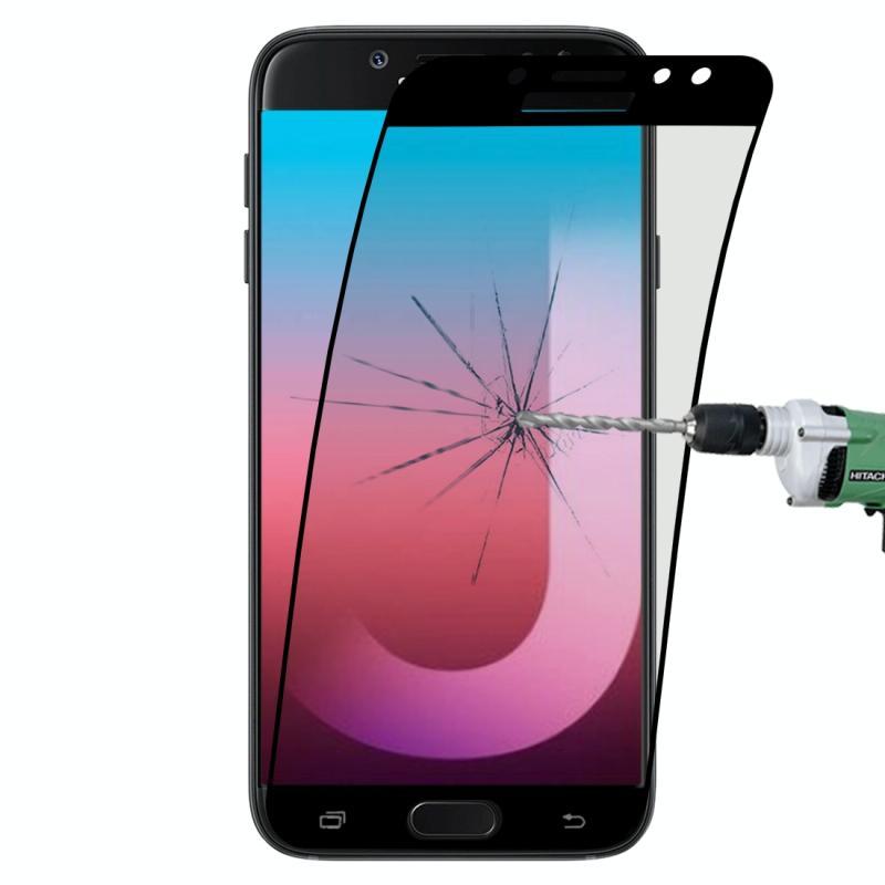 Afbeelding van 0.1mm 9H volledig scherm flexibele vezel getemperd glas Film voor Galaxy J7 (2017) / J7 Pro / J730 (zwart)