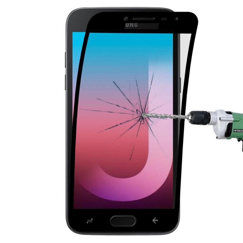 Afbeelding van 0.1mm 9H volledig scherm flexibele vezel getemperd glas Film voor Galaxy J2 Pro (2018) (zwart)