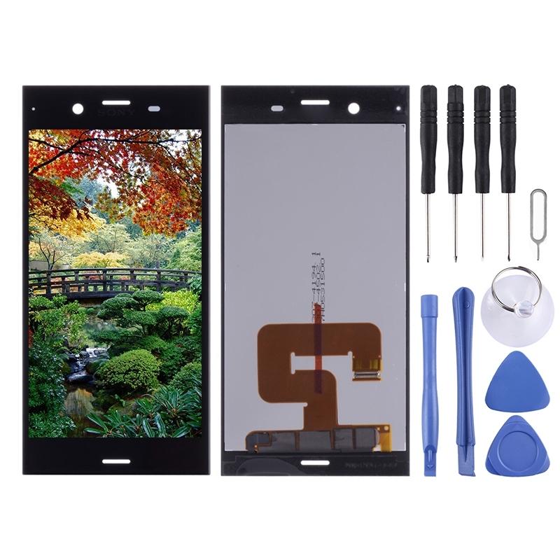 LCD-scherm en Digitizer voor Sony Xperia XZ1(Black)