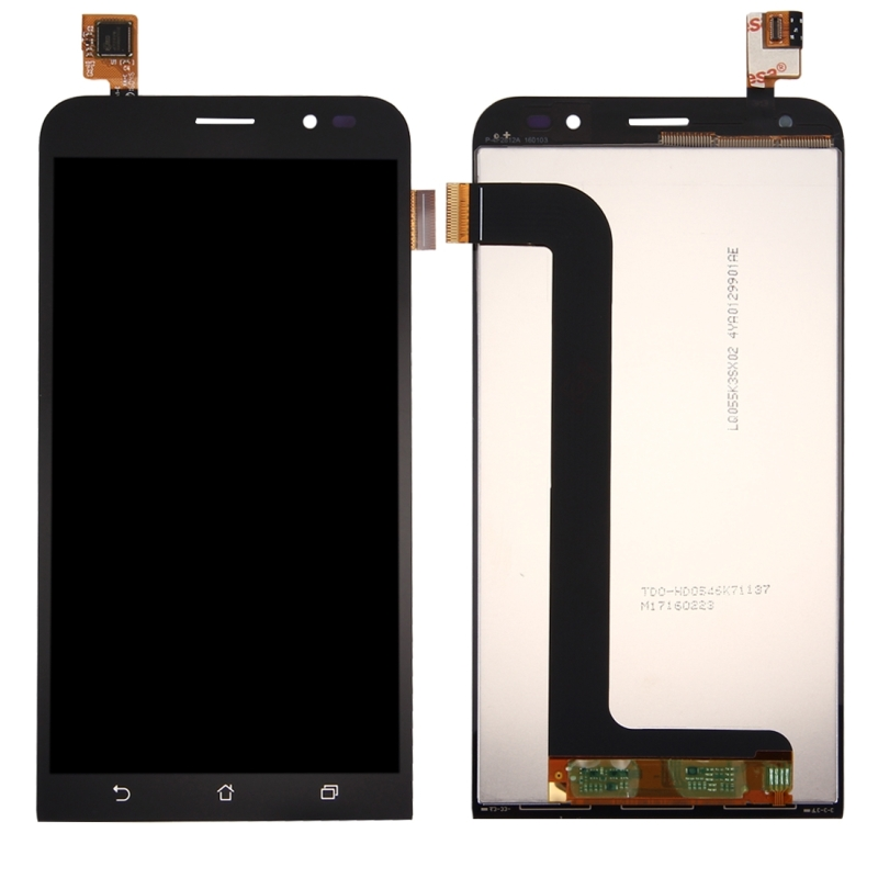 Afbeelding van iPartsBuy for Asus Zenfone Go 5.5 inch / ZB552KL LCD Screen + Touch Screen Digitizer Assembly(Black)
