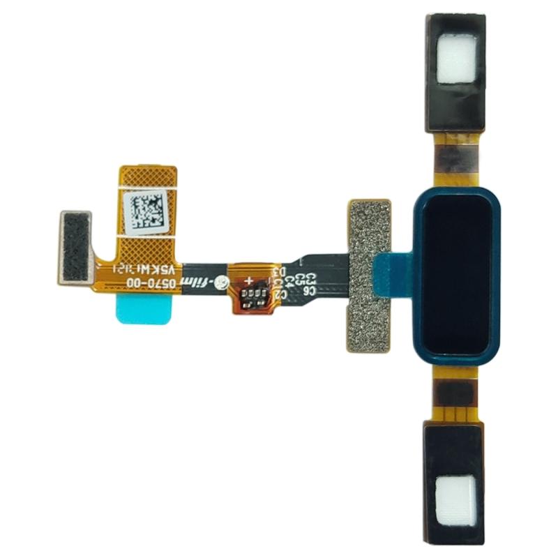 Big Fingerprint Sensor Flex Cable for Nokia 8 / N8 TA-1012 TA-1004 TA-1052(Black)