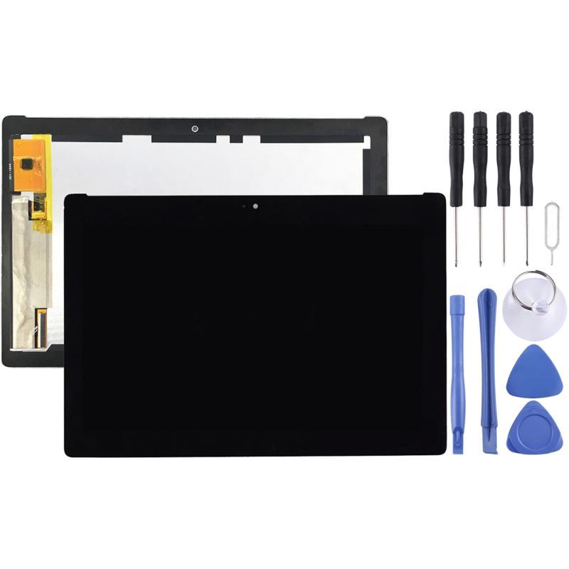 LCD-scherm en digitizer volledige montage voor de ASUS zenpad 10 Z300 Z300CL Z300CNL P01T (gele Flex kabel versie)