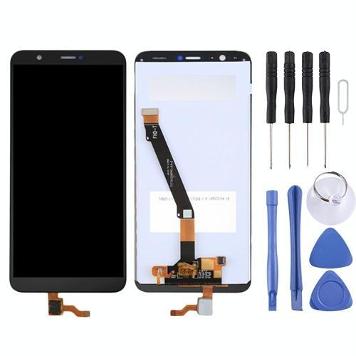 LCD-scherm en Digitizer voor Huawei P Smart (geniet van 7S)(Black)