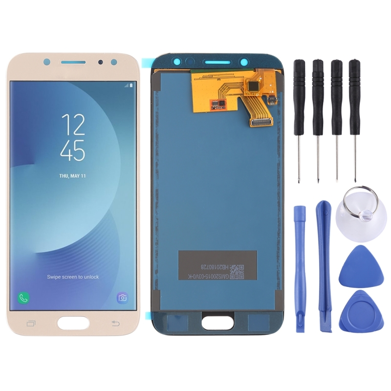 LCD Screen and Digitizer Full Assembly (TFT Material ) for Galaxy J5 (2017)  J530F/DS  J530Y/DS(Gold)