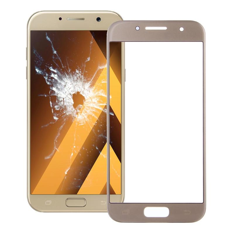Front Screen Outer Glass Lens for Galaxy A7 (2017) / A720 (Gold)